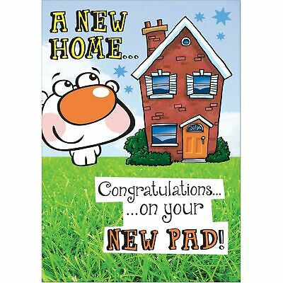 Doodlecards Funny New Home Greeting Card - Medium • 2.49£