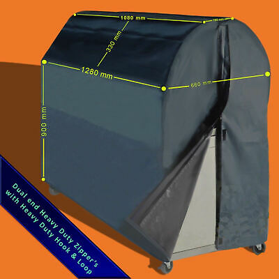 AU89.95 • Buy BBQ Cover Premium Full Length 4-6 Burner Heavy Duty Barbeque Cover Everdure E7
