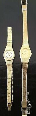 $ CDN24.90 • Buy Vintage Pulsar Ladies Watches Gold Tone Lot Of 2 - Not Working
