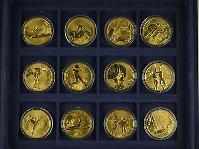 Westminster Collection Sydney 2000 Olympic Games ~ Bronze 28 X $5 Coin Set • 249.99£