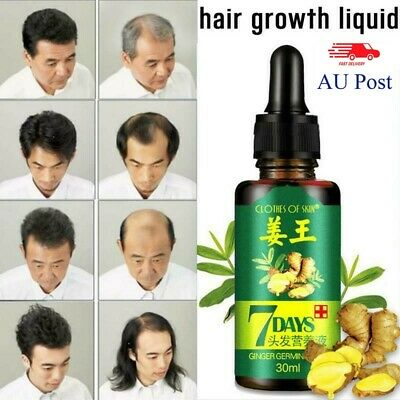 AU9.64 • Buy ReGrow 7 Day Ginger Germinal Hair Growth Serum Hairdressing Oil Loss -Brand G1~#
