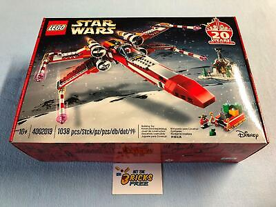 AU699.99 • Buy Lego Star Wars 4002019 Employee Exclusive Christmas X-Wing New/Sealed/HardtoFind