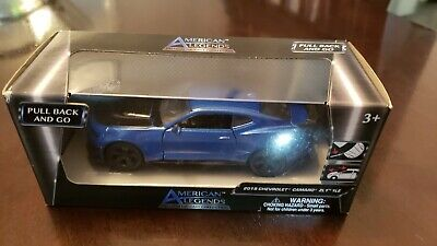 $15 • Buy American Legends Diecast Blue 2018 Chevrolet Camaro ZL1 1LE 1:43 Scale