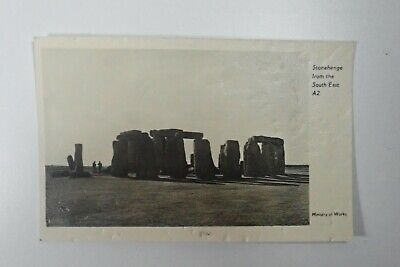 £1.90 • Buy STONEHENGE From The South East A2 Wiltshire Stones Old Real Photo Postcard A032