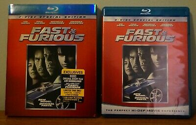 $ CDN17.11 • Buy Fast And Furious 2 Disc Special Edition Blu-Ray Discs!