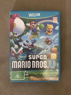 AU30 • Buy New Super Mario Bros. U (Nintendo Wii U, 2009)