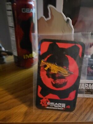 $50 • Buy Gears Of War 4 VERY RARE Xbox One Collectible Lancer Pin SDCC 2016