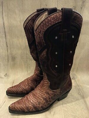 Womens Sancho Cowboy Coots Pre Loved UK Size 5 • 115£