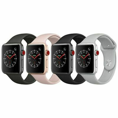 $ CDN349.99 • Buy Apple Watch Series 3 Aluminum 38mm A1860/ 42mm A1861 GPS+Cellular For IPhone