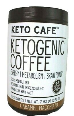 $19.99 • Buy Keto Cafe Ketogenic Coffee Energy/Metabolism/Brain Power Caramel Macchiato MCT