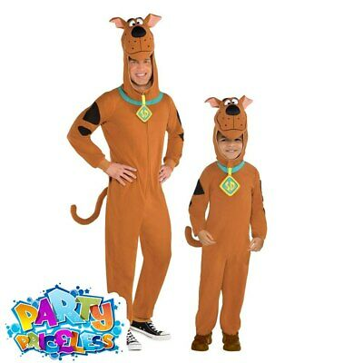 Adults Kids Scooby Doo Costume Official Book Day Week Mens Boys Fancy Dress • 23.99£