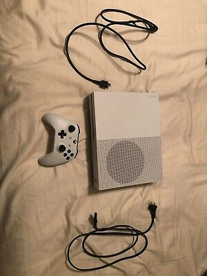$225 • Buy LOT - Microsoft - White - XBOX ONE S - 1 TB X Halo And More Lot