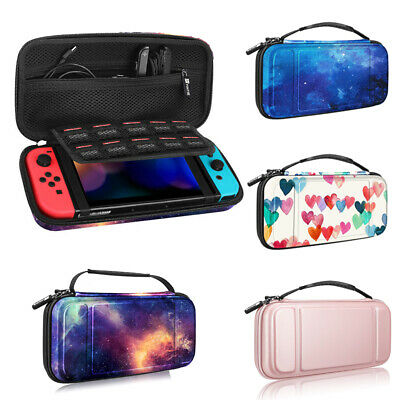 $13.69 • Buy For Nintendo Switch Carry Case Portable Travel Bag Hard Shell+10 Game Card Slots