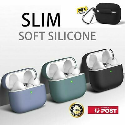 AU5.95 • Buy Thin Slim Soft Premium Silicone AirPod 3 Ultra Case Cover For Apple AirPods Pro