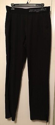 $15 • Buy Skechers Barco Scrub Pants Black L Excellent Condition
