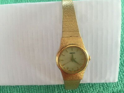 $ CDN160 • Buy Vintage Seiko Gold Tone Women's Japan Watch/wristwatch