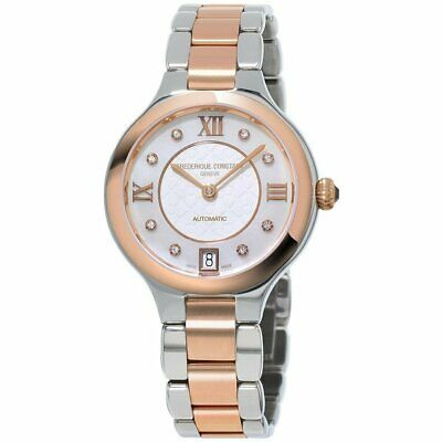 $699.99 • Buy Frederique Constant Women's Automatic Diamond Accent 33mm Watch FC-306WHD3ER2B