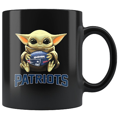$20.67 • Buy New England PATRIOTS Baby Yoda Star Wars Cute Yoda PATRIOTS Fun Yoda Coffee Mug