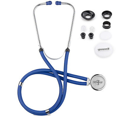 $29.74 • Buy Stethoscope For Cardiology Medical And Home, Yuwell Dual Head Classic Light For