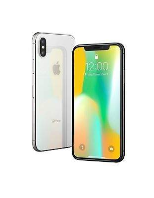 AU550 • Buy Apple IPhone X - 64GB - Silver (Unlocked) A1865 (CDMA + GSM) (AU Stock)