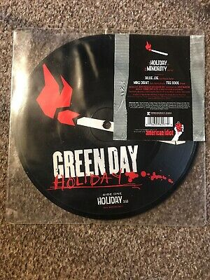 Green Day Holiday & Minority 7 Inch Picture Disc • 11£