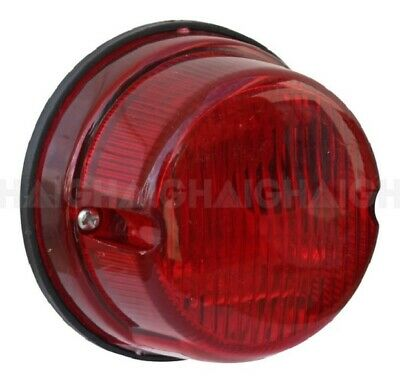 AU18 • Buy Trailer Light 12v Round 3  (75mm) Stop Tail With Provision For Number Plate Lamp
