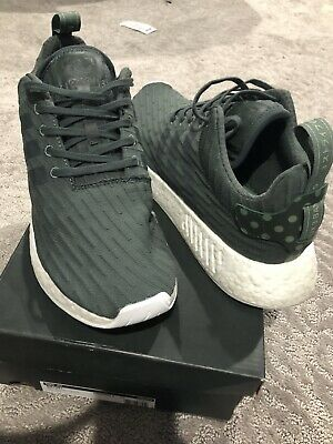 $ CDN75 • Buy Adidas NMD R2 Mens B22630 Olive Cargo Green Camo White Boost Knit Size 11