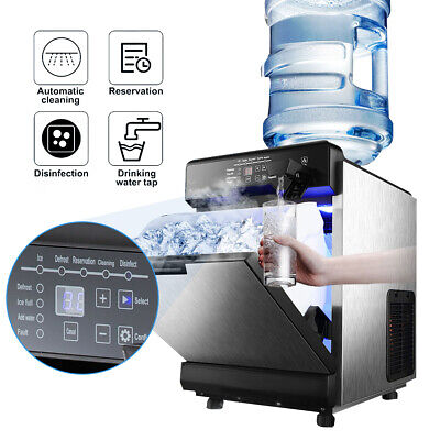 $369.97 • Buy 50KG 110LBS Ice Maker With Cool Water Dispenser LED Indicator Cold Drink Shops