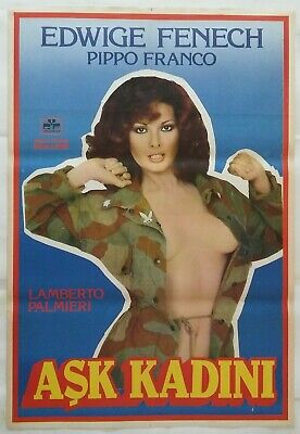 The Lady Medic 1976 Edwige Fenech Vintage Movie Poster • 8£