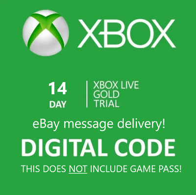 $4.44 • Buy Xbox Live 14 Day Gold Trial Membership Code