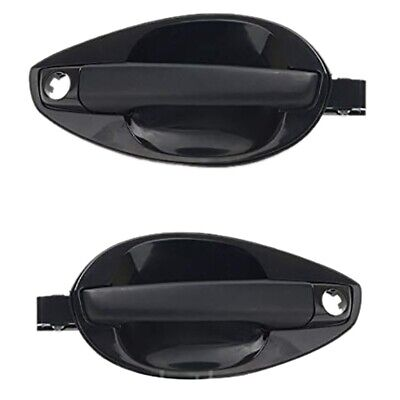 $32.99 • Buy For 2003-2008 Hyundai Tiburon Outside Door Handle Catch Left Right 2Pcs Set W9B3
