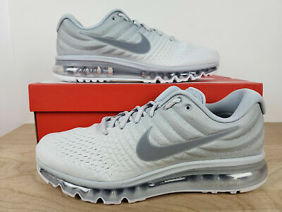 $101.99 • Buy NIKE AIR MAX 2017 MEN'S RUNNING SHOE 849559 009 Pure Platinum Grey Size 10