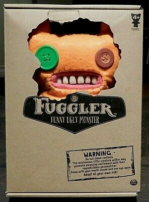$ CDN18 • Buy Spin Master Fuggler Funny Ugly Monster Orange Monster Button Eyes Teeth