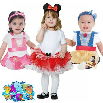 Toddler Baby Disney Princess Fancy Dress Costume Book Day Week Childs Outfit  • 12.99£