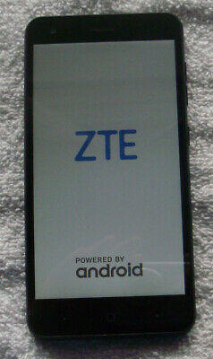 $40 • Buy Near Mint Condition Blue Zte Blade Force N9517 Boost Mobile 16gb Smart Phone