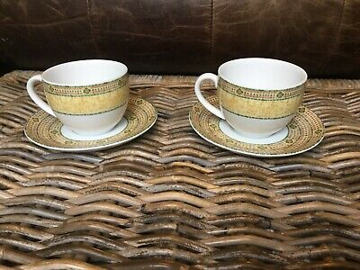 Wedgwood Florence Cups And Saucers X 2 (set A) • 6.99£