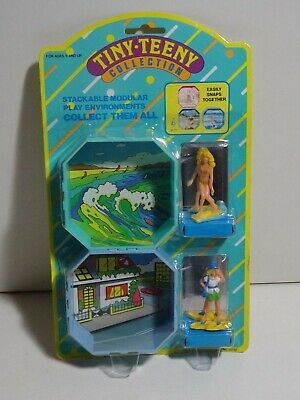 $ CDN15.78 • Buy Vintage TARA TOY CORP TINY TEENY COLLECTION FIGURES Surfer Girls Night Out