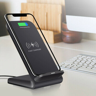 AU18.68 • Buy 15W Fast Qi Wireless Charger Stand For IPhone 11 XS 8 X  Samsung S9 S10 Note10 9