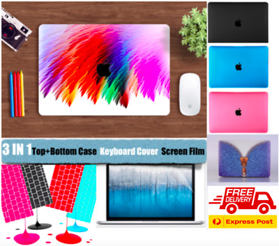 AU19.99 • Buy 3-IN-1 SET MacBook Pro 13 Inch Case Air 13 Inch +Keyboard Cover+Screen Protector