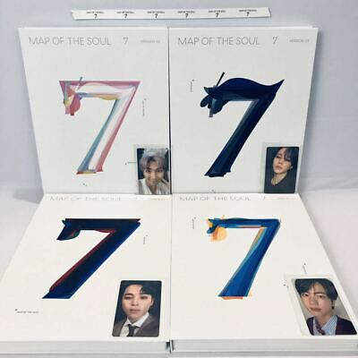 $29.99 • Buy Bts - Map Of The Soul:7 Album + All Benefits + Member Choice Photocard + Poster