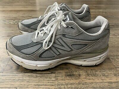 $45 • Buy CUSTOM New Balance 990 V4 Gray Shoes Made In USA (HEIGHT ADDED) US 10.5 Triple S