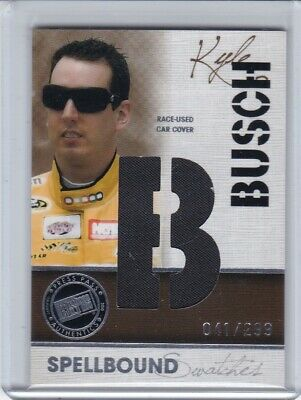 $0.99 • Buy 2010 Press Pass Kyle Busch SPELLBOUND 5 Card Set Race Used Car Cover B U S C H!