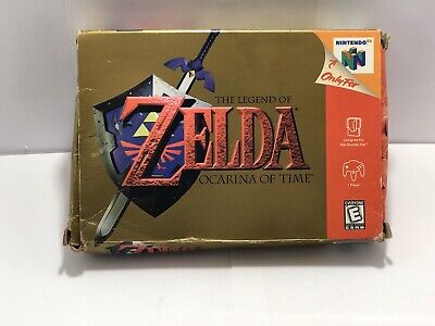 $24.99 • Buy The Legend Of Zelda Ocarina Of Time (Nintendo 64, 1998) N64 BOX ONLY Authentic