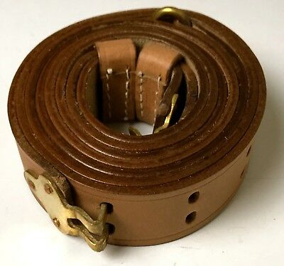 $22.36 • Buy Wwi Us 1917 M1917 Rifle Carry Sling-light Brown Leather
