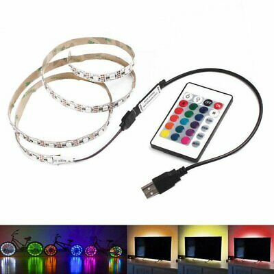 $2.41 • Buy 5V TV Background Lighting 2M USB RGB LED Strip Waterproof Outdoors SMD5050 Light