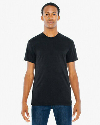 American Apparel Poly-cotton Short Sleeve Crew Neck T-Shirt Unisex • 5.98£