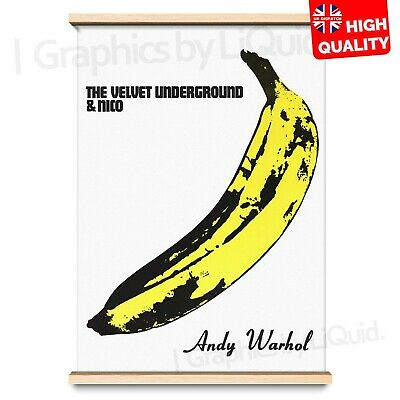 £4.99 • Buy Velvet Underground Banana Andy Warhol Vintage Poster Print | A4 A3 A2 A1 |