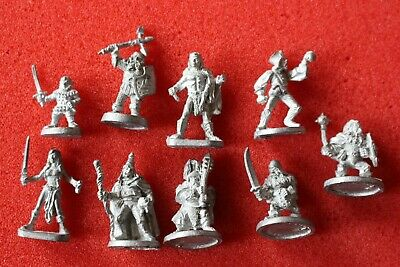 Ral Partha Miniatures ADD Fighters Wizards Dwarves 25mm Metal Figures Models OOP • 9.99£