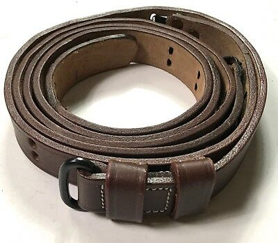 $ CDN27.69 • Buy Wwii Us M1 Garand Rifle M1907 Leather Carry Sling