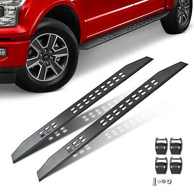 $190.99 • Buy 2x MOSTPLUS Black Nerf Bars Running Board Side Step For 15-20 Ford F150 Crew CAB